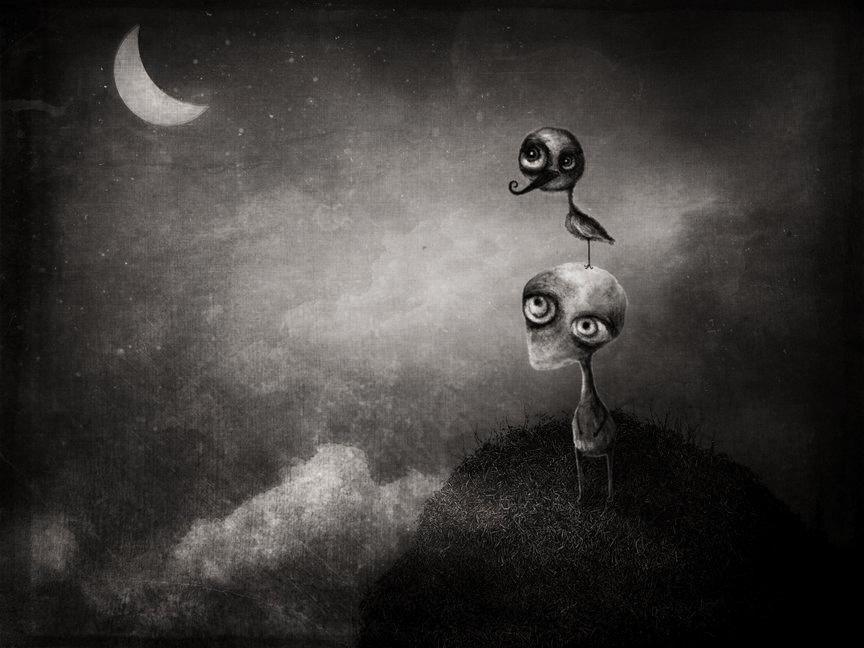 Esboços lucífugos(Pensamentos que trafegam á noite.)