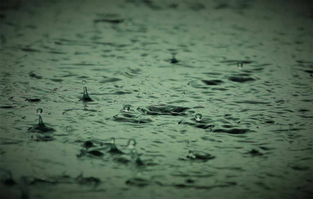 Choveu!