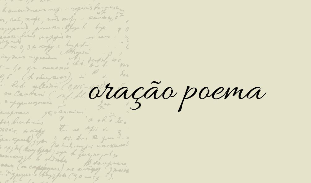 oração poema