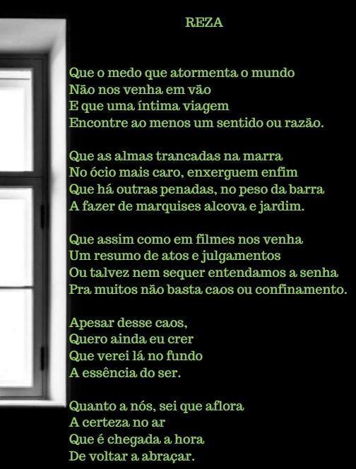 REZA - Um poema para esses tempos