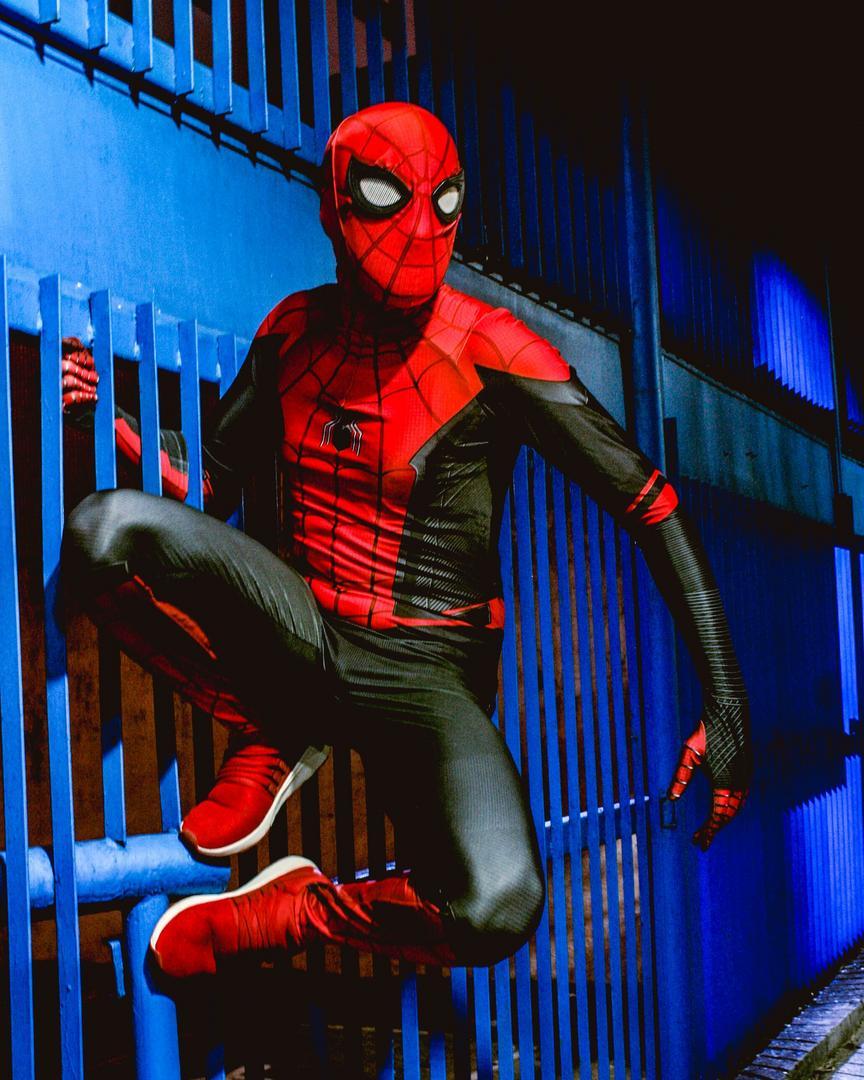 Cosplay do Homem Aranha