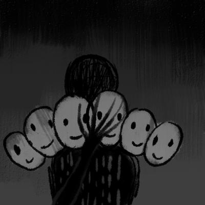 Sombras descoloridas
