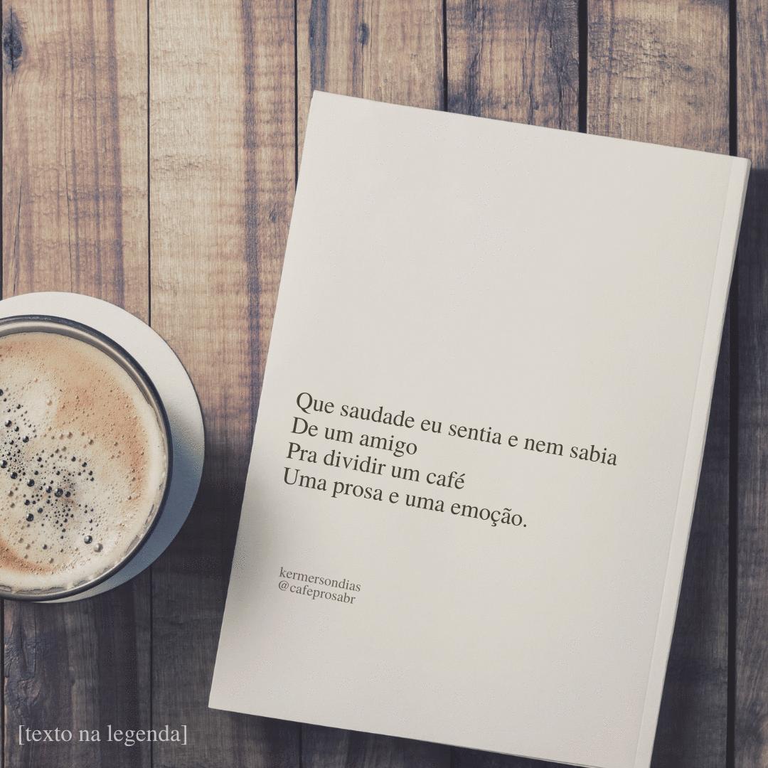 Café e afetos