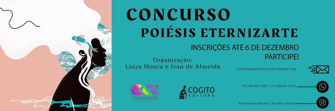 Poetas, participem do Concurso Poiésis EternizArte!