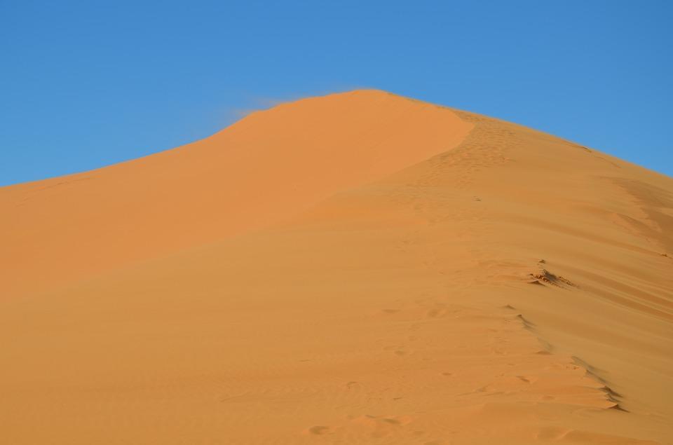 O deserto de passos/O deserto de andares