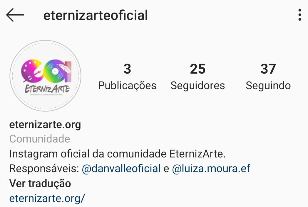 Instagram EternizArte