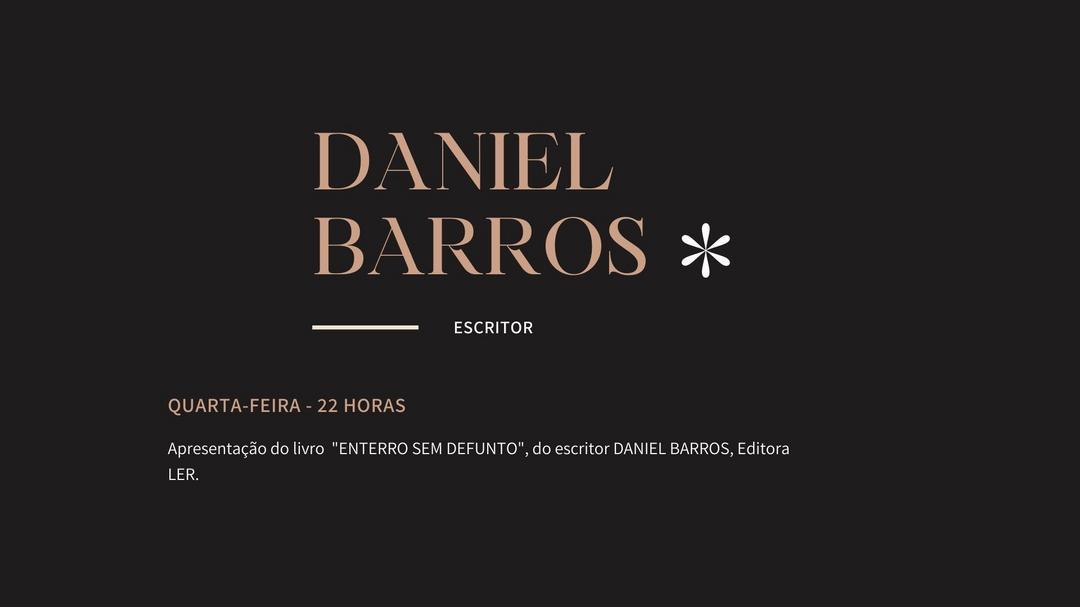 Projeto Letras e Caminhos com o escritor Daniel Barros