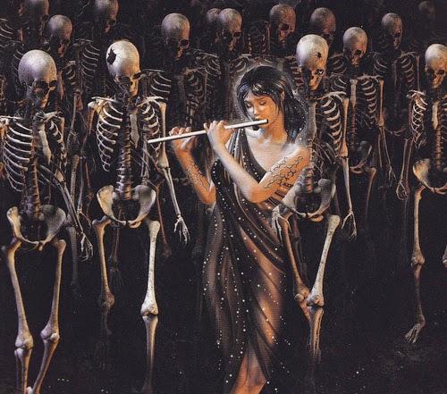 A Bruxa Diábado-A encantadora de cadáveres
