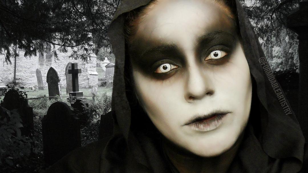 Maquiados de amedronto