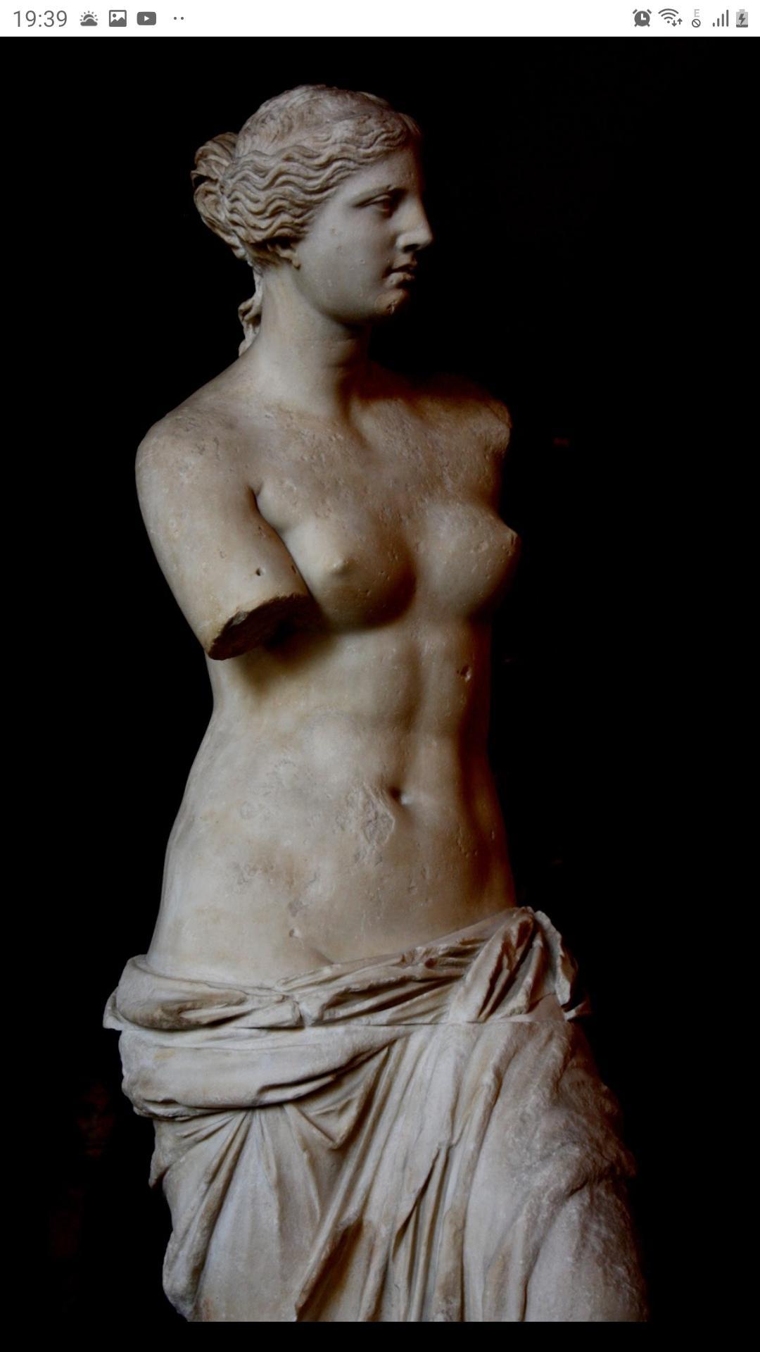 O linda e pequena Afrodite...