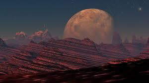 Um passeio em Marte.