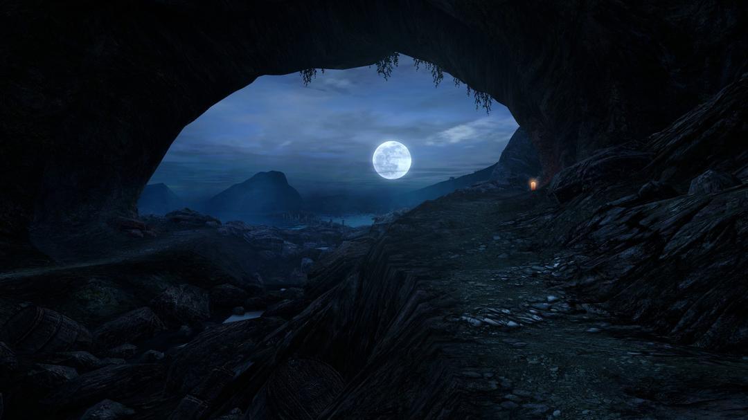 A gigantesca Caverna chamada: Noite