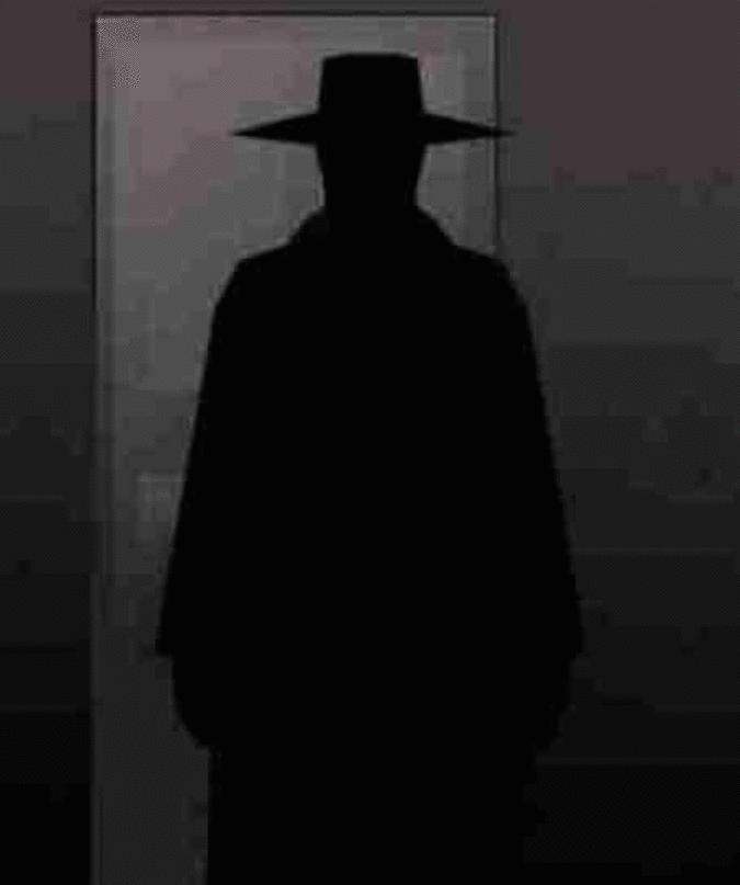 O homem sombrio