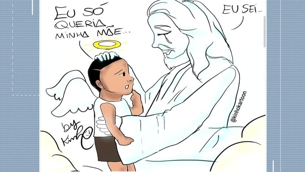 O choro do menino Miguel