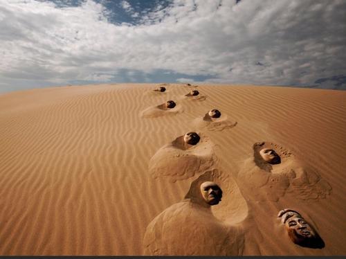 A sede da areia