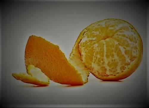 Seu cheiro de tangerina