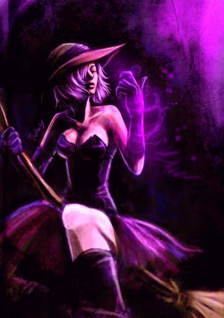 A Bruxa Ametista(a Lordina da noite)