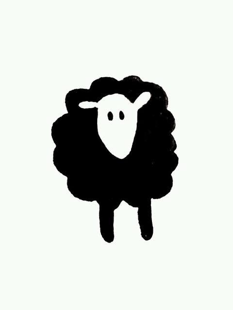 Ovelha negra.