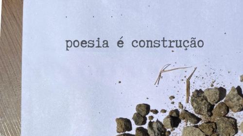 poesia é construção
