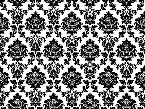 Branco transbordado de preto