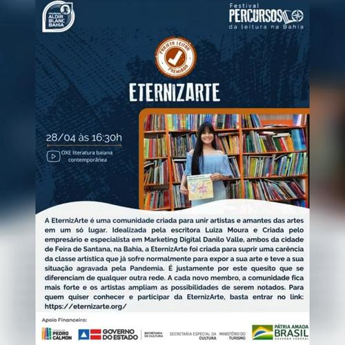 EternizArte recebe prêmio