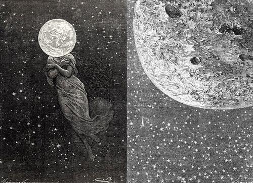 La Luna em Beleza e Graça