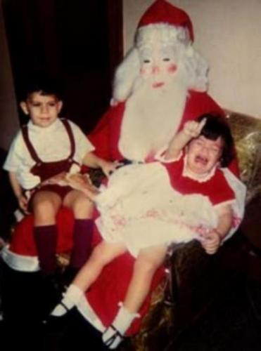 Papai Noel Abstrato