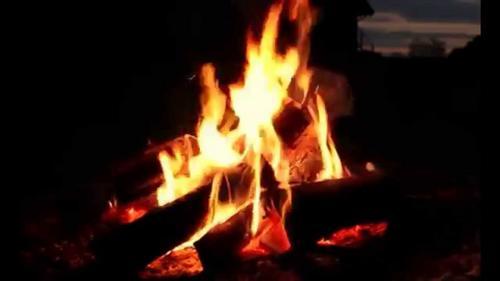 O rogo ao fogo
