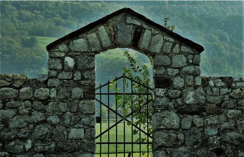 O muro e o portão