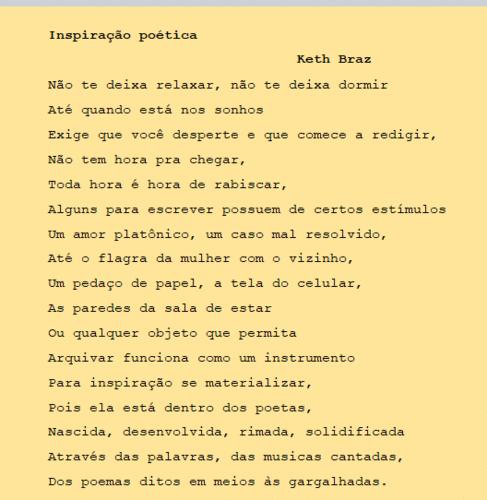 Inspiração poética